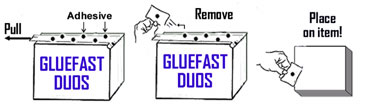 Gluefast DUOS Adhesive Dispensing Equipment