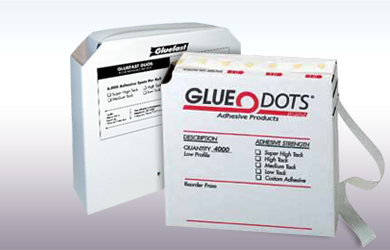 Glue Dots and Gluefast Duos